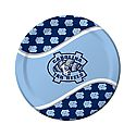 Set of 9 inch Repeating NC Paper Plates