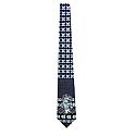Ugly Sweater Style Rameses Christmas Tie (Navy)