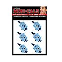 Pack of 6 State Shape Waterless Temporary Tattoos