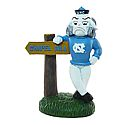 Rameses Mascot Figurine with Chapel Hill Sign