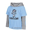 Toddler L/S Rail Hooded Double Layer T (CB/Grey)
