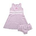 Infant Highpoint Seersucker Dress w/ Bloomers (Pink)