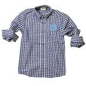 Toddler L/S Gingham Shirt (Navy/White)