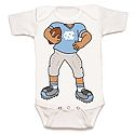Infant Heads Up FOOTBALL Player Onesie