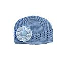 Youth Knit Hat with Gingham Bow (CB)