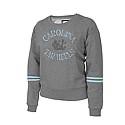 Juniors' Shasta Scoop Neck Crew (Grey)