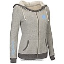 Juniors' Sundance Full-Zip Hood (Heather Grey)