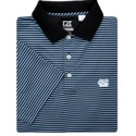 Trevor Stripe DryTec Polo (Black/CB)