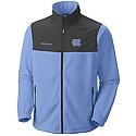 Fast Tech Overlay Full-Zip Fleece Jacket (CB/Charcoal Grey)