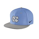 Nike Vapor Authentic Baseball Flat Bill Fitted Hat (CB/Grey)