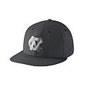 Nike True Platinum Swooshflex Flat Bill Hat (Anthracite Grey)