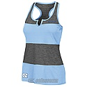 Juniors' Striker Stripe Tank (CB/Charcoal Grey)