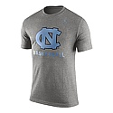Nike Marled Basketball T (Grey)