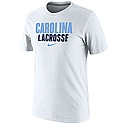 Nike Carolina Lacrosse T (White)