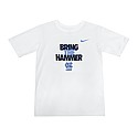 Youth Bring The Hammer Lacrosse T (White)
