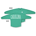 Ladies' L/S Stripe Sweeper T (Seafoam Green)