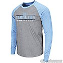 Long Sleeve Tailback Raglan T (Heather Charcoal Grey/CB)