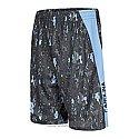 Youth Breaker Pattern Shorts (Black/Grey)
