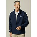 Traveler Microfiber Full-Zip Jacket (Navy)