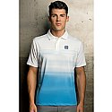 Vansport Pro Ombre Print Polo (Ocean/White)