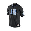 Youth #12 Replica 2015 Football Jersey w/ Argyle (Black)