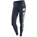 Nike Ladies' Tailgate Leg-A-See Tights (Navy)