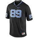 Youth #89 Game Replica Football Jersey (Black)