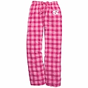 Youth Flannel Pants (Pink Plaid)