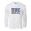 L/S UNC Chapel Hill T (White)