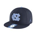 Nike Argyle Stripe True Flat Bill Hat (Navy)