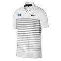 Nike Mobility Stripe Polo (White/Grey)