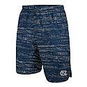 Youth Pattern Shield Shorts (Navy/Silver)