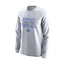 Nike Long Sleeve RE2PECT Above All T (White)